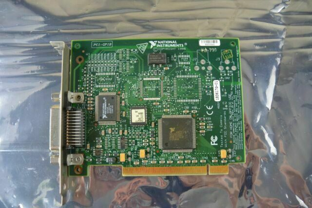 National Instruments NI PCI-GPIB 183617K-01 183617J-01 PCI GPIB