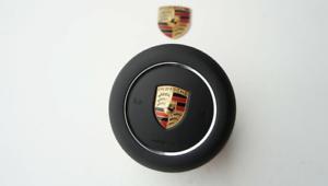 Porsche-991-981-970-971-95B-958-Deckel-Airbag-Lenkrad-Armaturenbrett-Kunst
