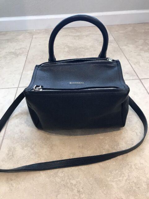 7f2d5947bf5 Givenchy Pandora Small Sugar Leather Shoulder Bag, Black, Retail: $1890.00