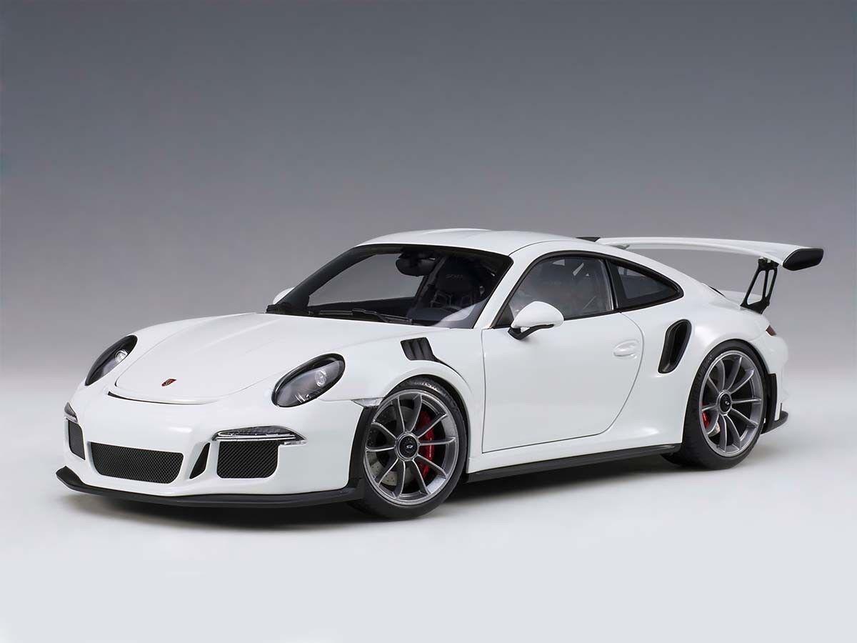 Porsche 911 (991) GT3 Rs en Blanc en 1 1 1 18 Echelle par Autoart 78166 68c3c0