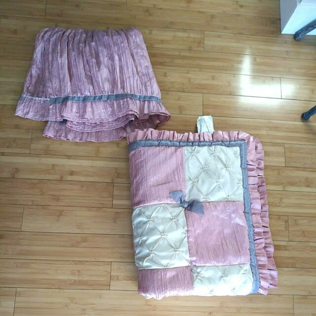 Bella Baby Crib Rail Guard The Peanut, The Peanut Shell Bella 6 Piece Crib Bedding Set