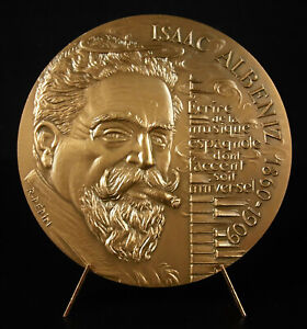 Medal-Isaac-Albeniz-Iberia-Music-Spanish-Piano-Music-Composer-Spain