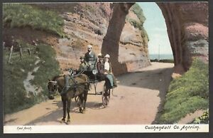 Postcard-Cushendall-in-County-Antrim-Northern-Ireland-early-view-of-Red-Arch