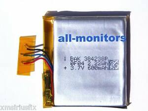 Original Sandisk Sansa Clip Replacement Battery Pack New