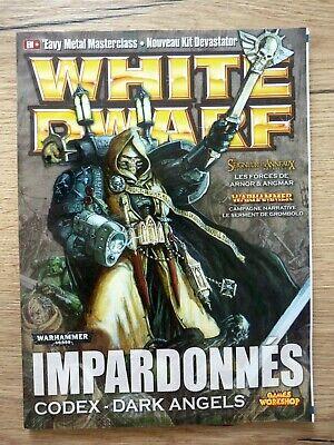 100% Vero Magazine White Dwarf N°155 Games Workshop Warhammer Version Française