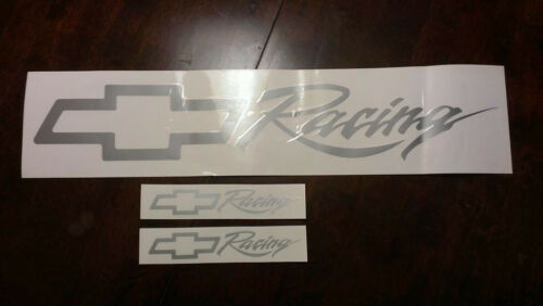 CHEVY RACING FRONT WINDSHIELD REAR BANNER LARGE 2 SIDE WINDOW DECAL STICKER