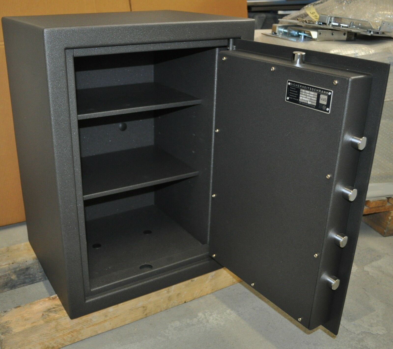 Tresor Safe Waffenschrank stufe B S2 mit Elektronikschloss ...