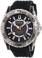 Gents Bulova Watch 96b155 Precisionist Black Watch Rrp£349