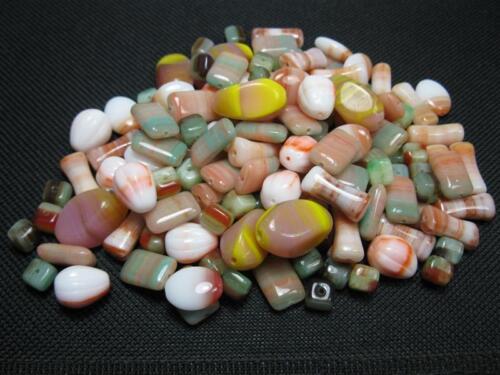 100g böhmischer Glasperlen Mix 4-12mm Perlen BM008