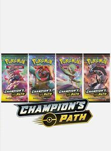 Champions-Weg-Booster-Pack-NEU-offizielle-versiegelt-Pokemon-Trading-Card-Game