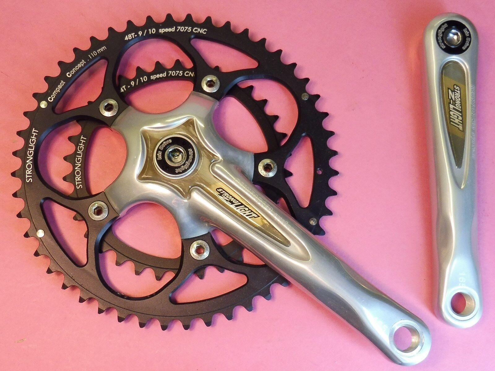 Stronglight Z'Ligero 165-34.48 Bicicleta Platos y Bielas - Nos