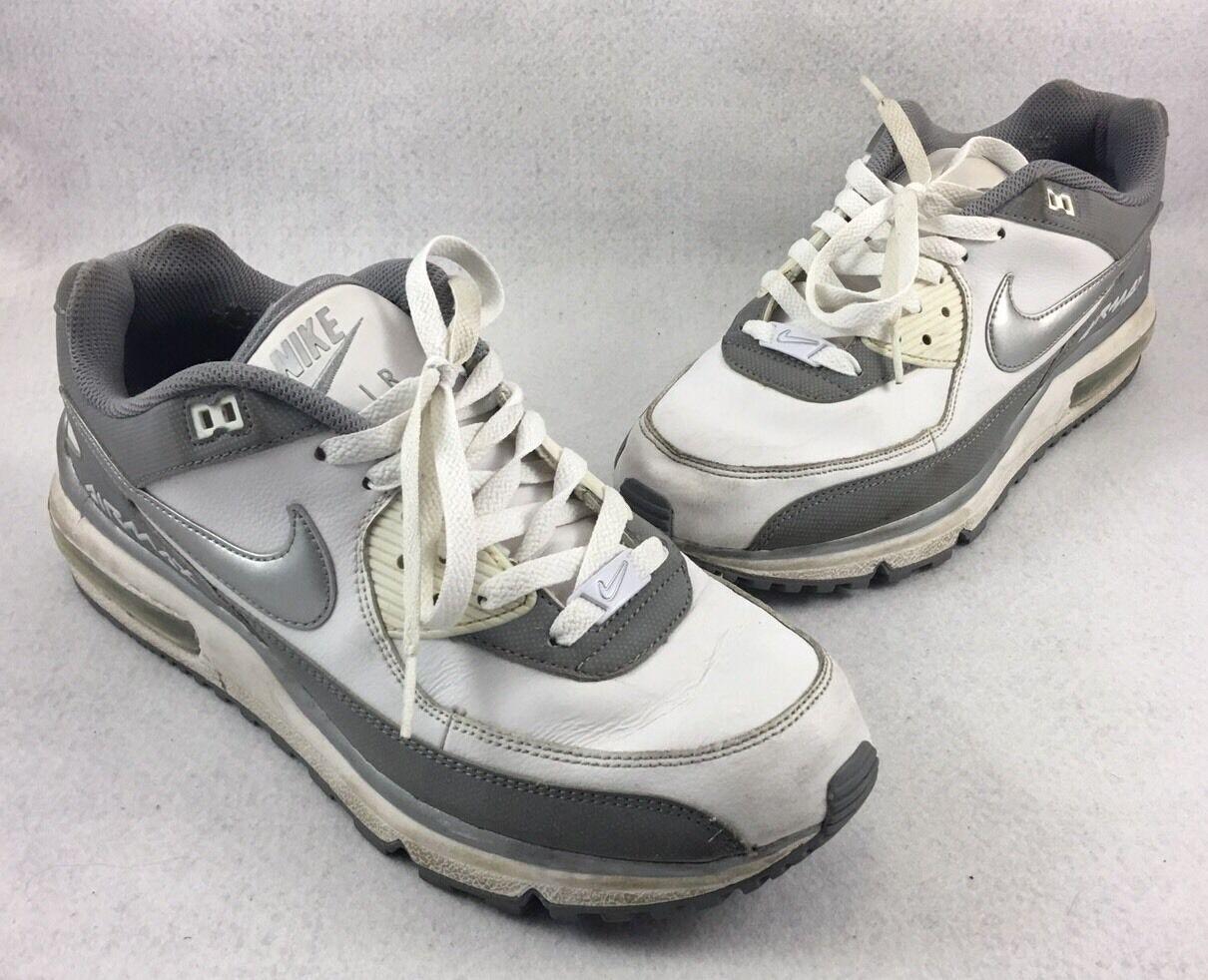 nike air max max max wright scarpe da corsa 317551-119 bianco grigio mens 10 | Il Nuovo Arrivo  | eccellente  | A Basso Prezzo  | Uomo/Donne Scarpa  | Uomo/Donna Scarpa  | Gentiluomo/Signora Scarpa  fd3bbf