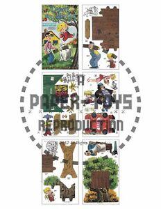 VINTAGE UNCUT 1960 DENNIS THE MENACE PAPER DOLLS~#1 REPRODUCTION~FANTASTIC!
