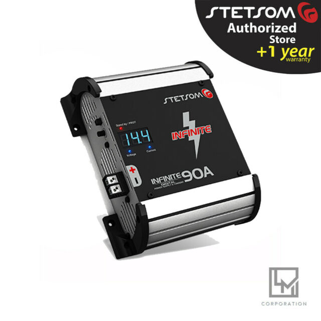 Stetsom Power Supply  Charger INFINITE 90A Car Audio battery 3 Day Delivery