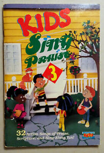 Details about Kids Sing Praise Volume 3 songbook 32 songs Brentwood  Christian Music 1990