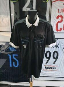 Ambitieux Maillot Jersey Trikot Camiseta Shirt Adidas Ventex Arbitre Referee Vintage Xl