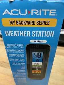 New! Acurite My Backyard Series Weather Station (3841 ...