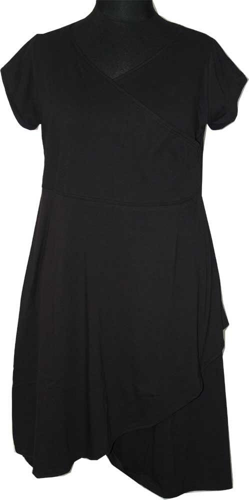 INDUSTRIAS BORIS BORIS BORIS vestido Esmeralda GR. 46 (4) negra manga corta cc90e0
