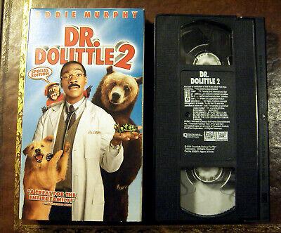 Dr Dolittle 2 Vhs 2001 24543026716 Ebay