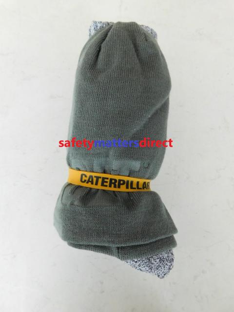f881c1fe012 CAT Caterpillar Grey Beanie   Sock Pack Bundle 5pk Socks Hat Beanie Sock  Pack