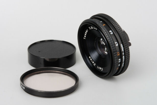 Contax Carl Zeiss Tessar T* 45mm f/2.8 f2.8 Manual Focus Lens, AEJ
