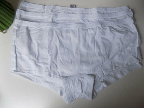 48//50 NEU Unterwäsche 75f 3 x Petite fleur Panty Slip weiß Gr