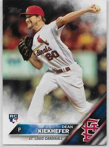 Dean Kiekhefer St Louis Cardinals 2014 Panini Elite Signed Card
