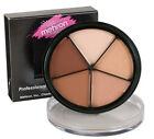 Mehron Tattoo Cover Cream Makeup Pro Coloring 5 Colour Palette Wheel