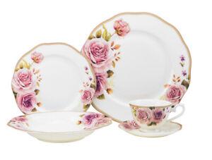 20-Piece-Euro-Porcelain-Fine-Bone-China-Dinner-Serving-Dish-Set-for-4-Premium