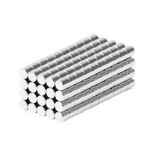 18 X 18 Inch Neodymium Rare Earth Cylinder Magnets N48 200 Pack