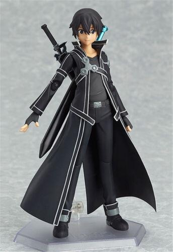 Sword Art Online Kirito Kazuto Figure SAO Collection Toy Figma 174 Newest in Box