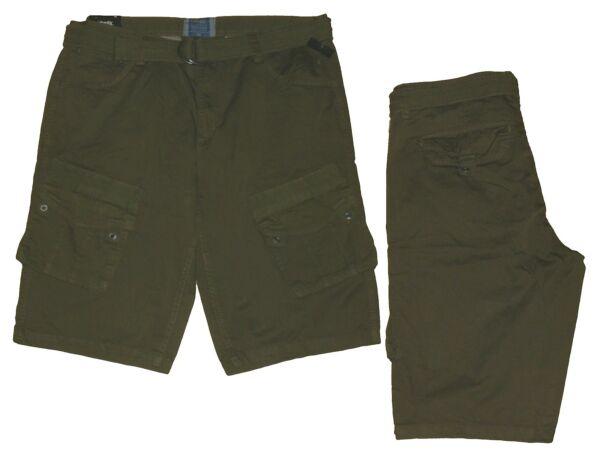 2019 Nuovo Stile Gargoshorts Uomo Shorts Bermuda Pantaloni Corti Cintura Tg. 50 Larghezza 34 Cachi Nuovo Colori Armoniosi