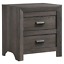 thumbnail 6 - NEW Gray 4PC Queen King Bedroom Set Modern Rustic Brown Furniture Bed/D/M/N