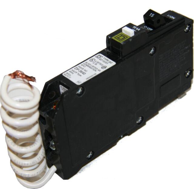 Square D Qo115cafi Combination Afci Circuit Breaker 15a