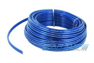 25 FEET 12 GAUGE SAMURAI AUDIO CAR/HOME AUDIO STEREO SPEAKER WIRE CABLE 25FT 12G