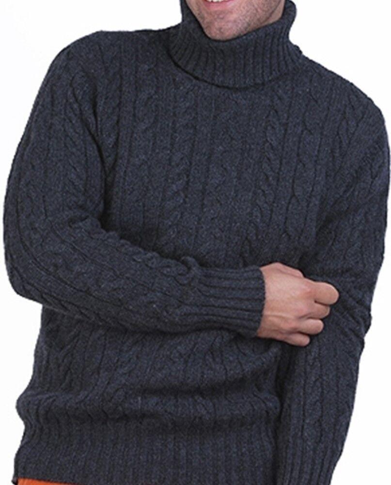 Balldiri 100% Rollkragen Zopf Pullover 10 fädig anthrazit meliert XXL     | Spielzeugwelt, fröhlicher Ozean  | Qualität und Quantität garantiert  | Bevorzugtes Material  | Der neueste Stil  | ein guter Ruf in der Welt