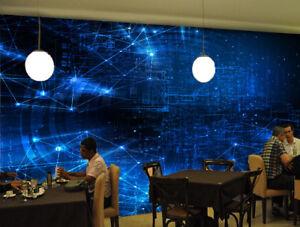 63f567e7c5a3 Detalles de Papel Pintado Mural De Vellón Moda Azul De Luz 2 Paisaje Fondo  De Pantalla ES AJ
