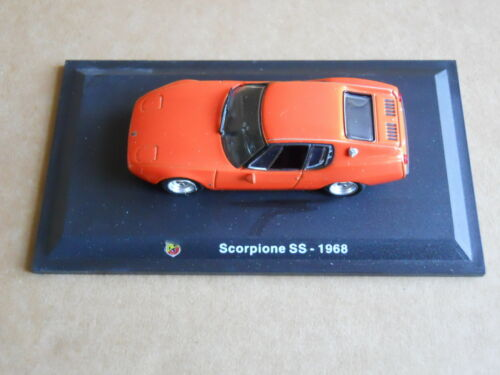 Leo Models CAR DIE CAST 1:43 NEW MV-14 ABARTH SCORPIONE SS 1968