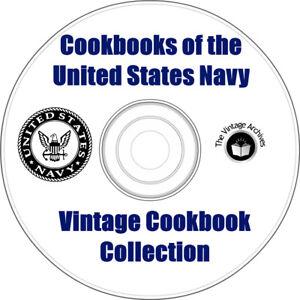 Cookbooks-of-the-US-Navy-3-Vintage-Cookbooks-on-CD