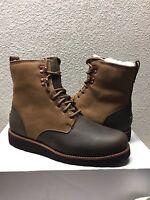 Ugg Men Hannen Tl Dark Chestnut Leather Boot Us 11 / Eu 44.5 / Uk 10 -nib