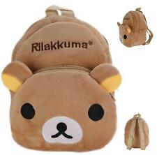 New Cute Rilakkuma San-x Backpack Child Preschool Bag Plush Schoolbag Candy Bag