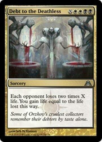 DEBT TO THE DEATHLESS Dragon/'s Maze MTG Gold Sorcery Unc