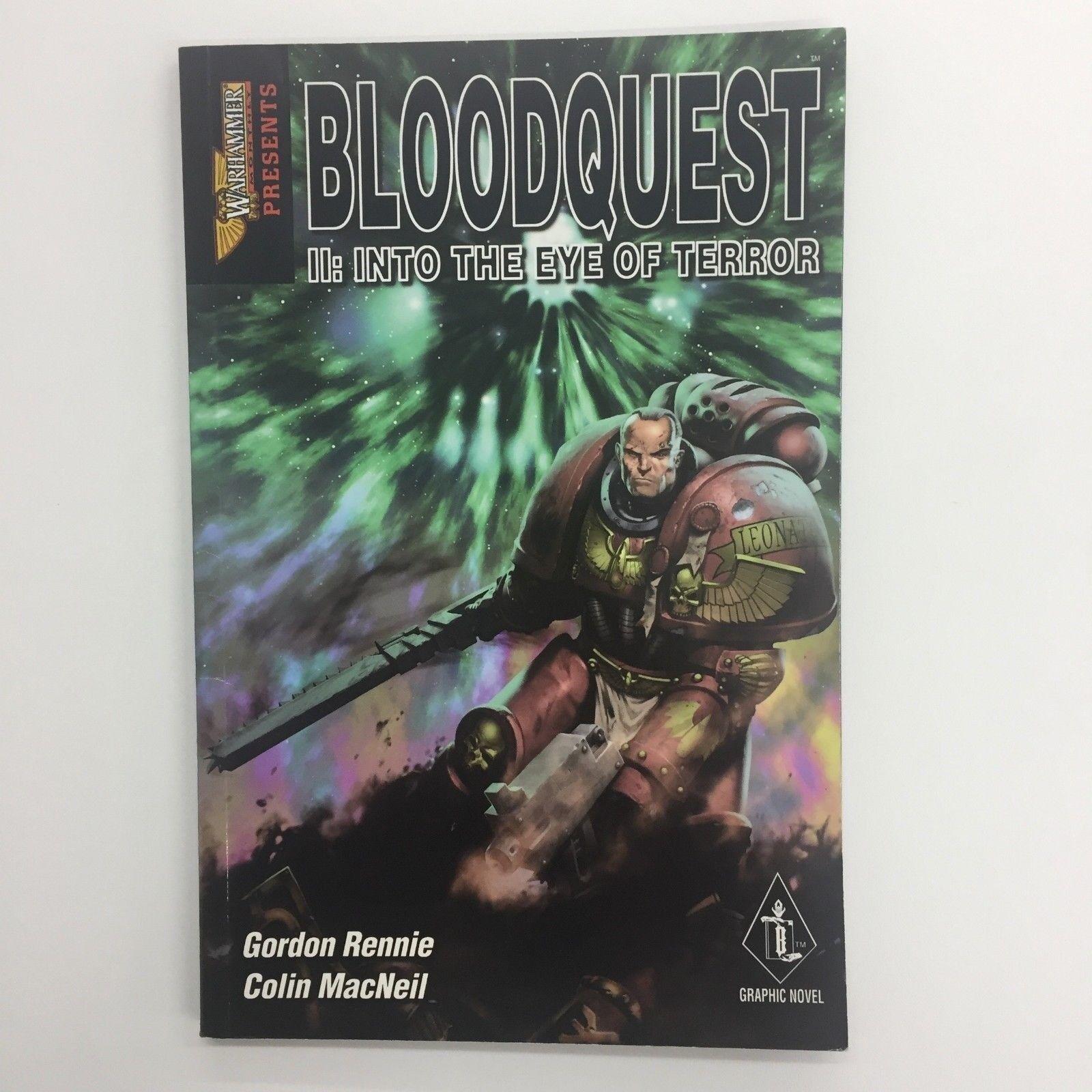 Warhammer Mensual Bloodquest II Into The Troll Ojo de Terror Graphic Novel 40K
