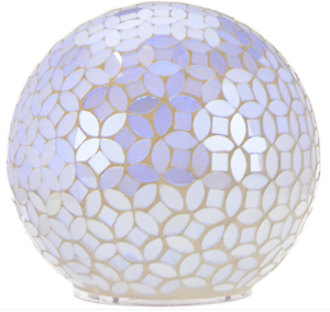 Mosaic Pearl Sphere with Multi-Function Light by Valerie H208628
