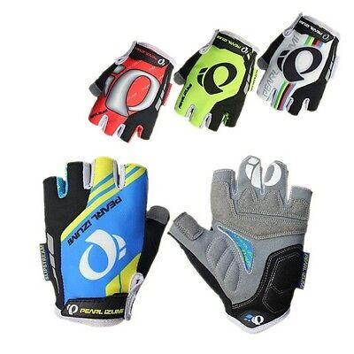 Fitness Cycling Bike Bicycle Half Finger Glove Sport Short Fingerless Gloves