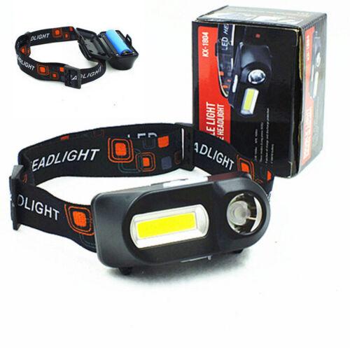 Mini phare lumineux superbe de COB XPE LED rechargeable 6 modes phare 18650