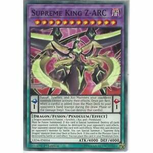 king supreme led6-fr054 x 2 Card yu gi oh z-arc