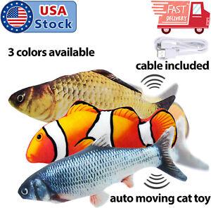 Cat-Wagging-Fish-Electric-Realistic-Plush-Simulation-Interactive-Fish-Plush-Toys