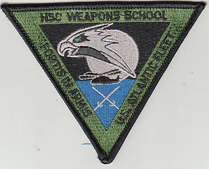 WEAPONS SCHOOL COMMAND CHEST PATCH