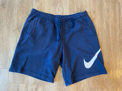 Nike Navy Blue Sweat Shorts Men's XXL